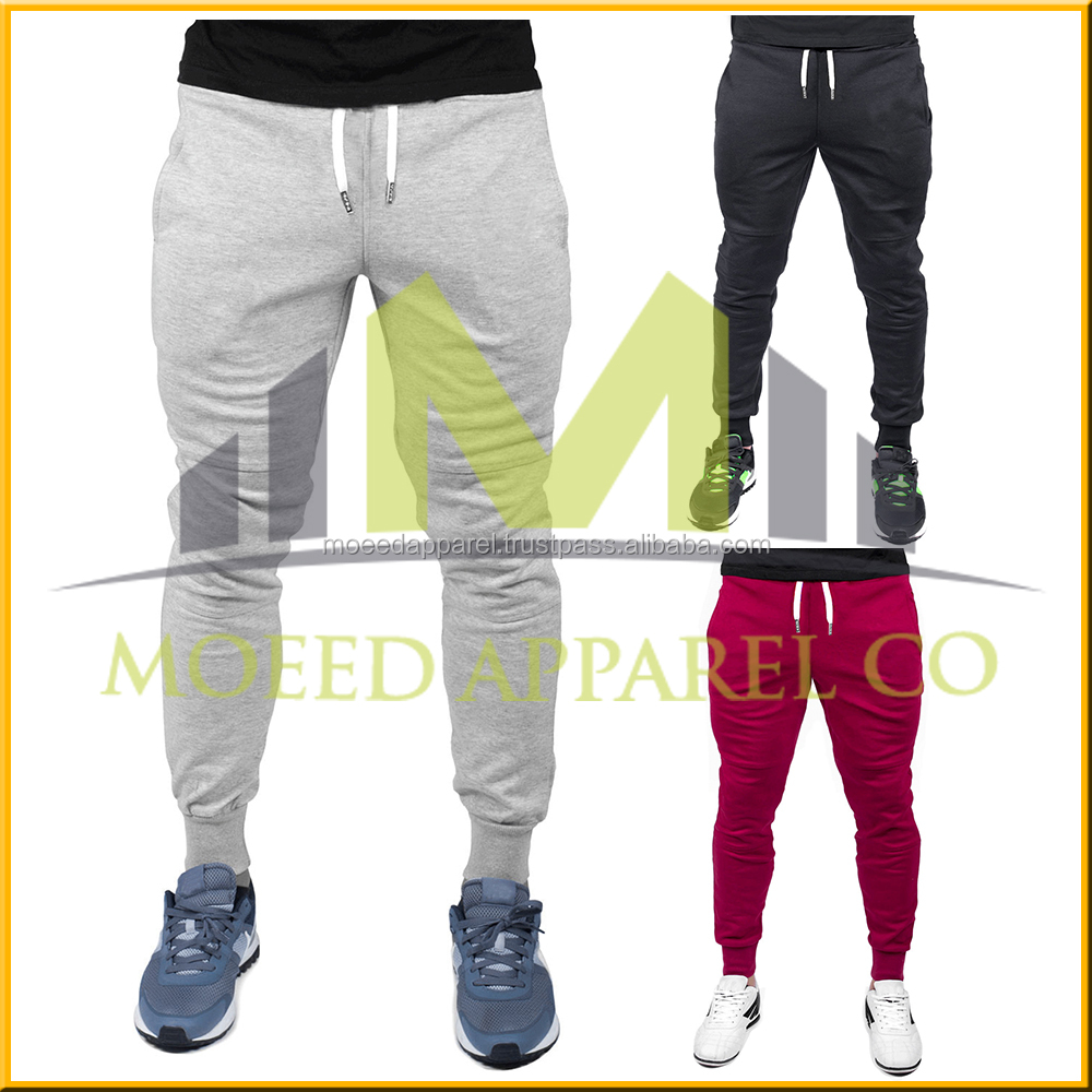 Stylish heavy cotton chino mens jogger pants