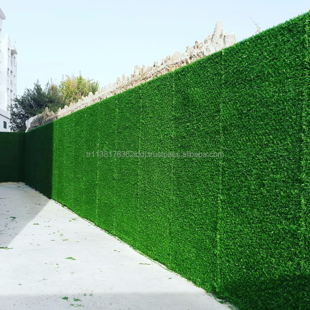 ARTIFICIAL GRASS FENCE - LUXURY FENCE GRASS