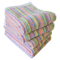 Japanese Travel & Hiking Towel Set of Five Original Stripe with Color Good for Travel Bag Japanese Towel CYBERL Japan