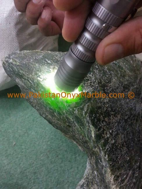 Nephrite Jade big good size boulders natural stones green dark color