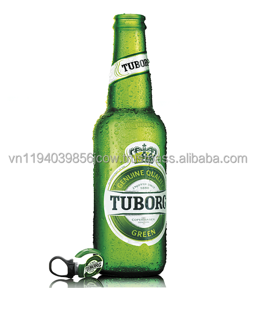 Vietnam Wholesale Tuborg Beer 330ml in bottle