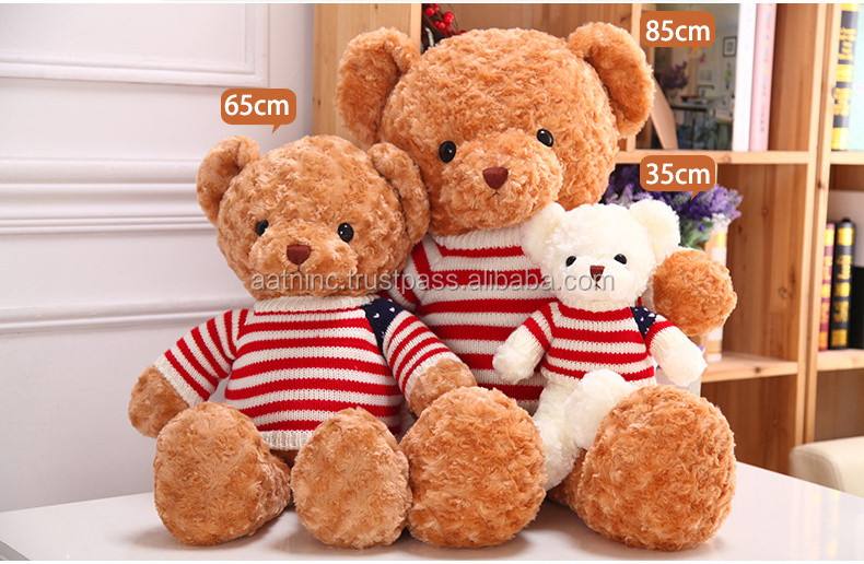 Teddy bear plush toy for Valentine's Day