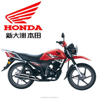Honda 125 cc motorcycle SDH(B2)125-55 with Honda patented electromagnetic locking system