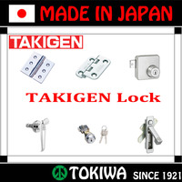 "Japanese manufacturer TAKIGEN MFG. CO., LTD. Products of ""hinge"", ""lock"", ""stay"", ""handle"" made in Japan. (smart lock)"