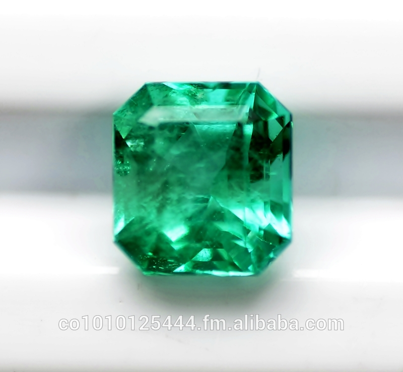 "2.82 Carat Natural Colombian Emerald ""Vivid Green"""