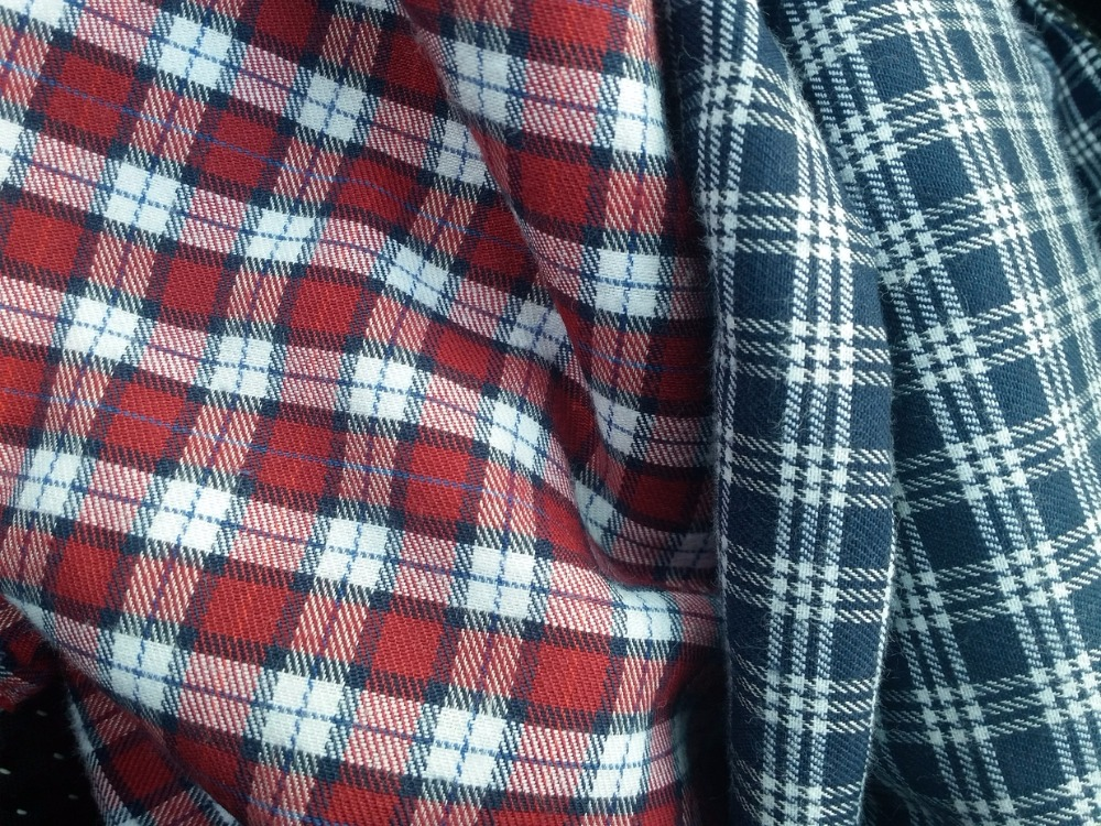 ozkay-27-9094 flannel shirt fabric