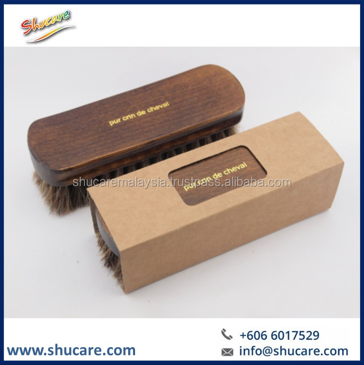 Shoe Premium Horsehair Brush