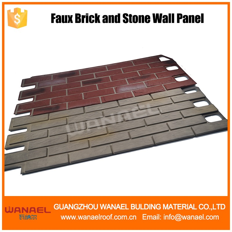 Wanael NWVSM101 Volcanic Brick New Design Artificial Faux Stone Wall Siding