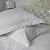 WEISDIN hot sale manufacturing high quality white plain dyedjacquard japanese pillow case