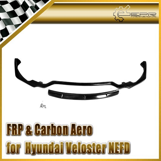 For Hyundai Veloster NEFD Turbo 2 pieces Lip FRP