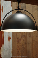 Industrial Pendant Light, Black Metal ceiling light