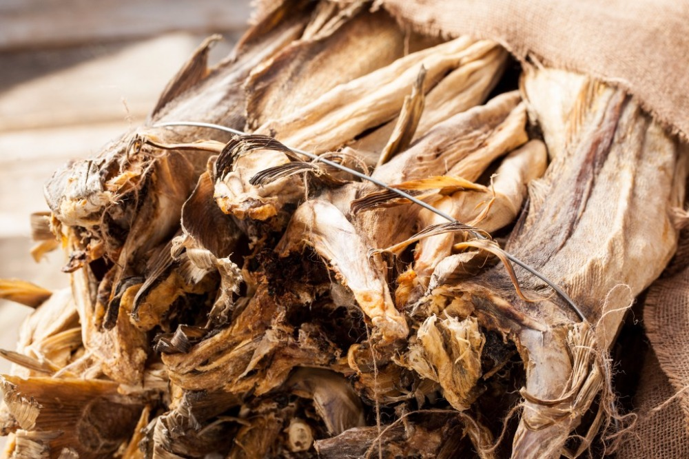 Norwegian Stockfish: 50/60cm Dried Cod Fish