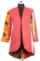 Vintage Reversible Kantha Jackets Womens Coat