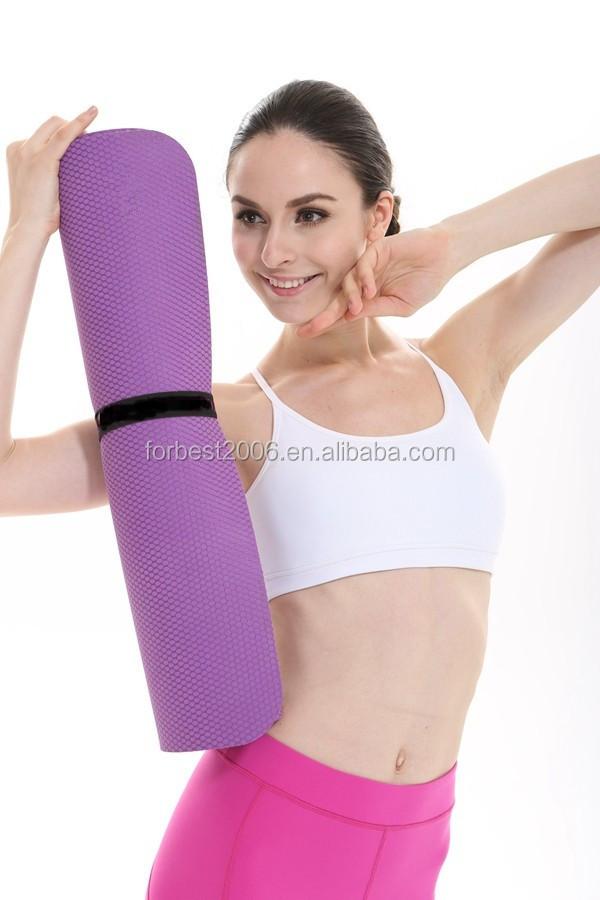 Non-toxic Hot Sale Wholesale Natural Rubber Yoga Mat 5mm ...