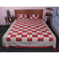 BETTER HOMES 100 % COTTON MADE 3 PC BED IN A BAD SET KING Comforter