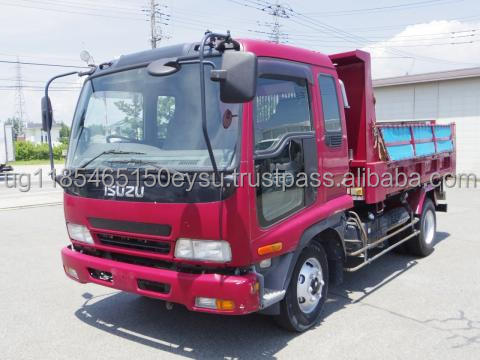 Used RHD Isuzu Forward 5Ton Dump truck 2005