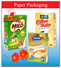Professional colorful paper box packaging for dry food packaging with high barrier / vietnam packaging