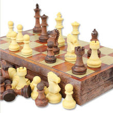 Chess set01, Personalized and fine carving chess sets, Magnetic chess set