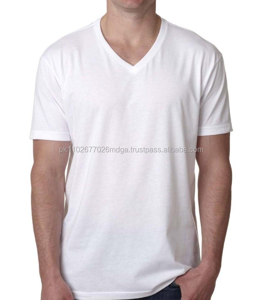 T shirt plain white back - Mens Plain T Shirts Basic Tee Shirt V Shaped Neck Buy T Shirt Plain T Shirt Blank T Shirt Product On Alibaba Com