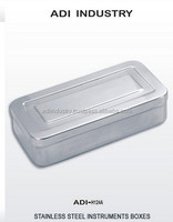 Stainless steel sterilizing , surgical , Dental , veterinary instruments Box
