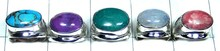 Big Gemstone Artison 5 Pcs Combo Lot 925 Sterling gems Rings From India - SYR003