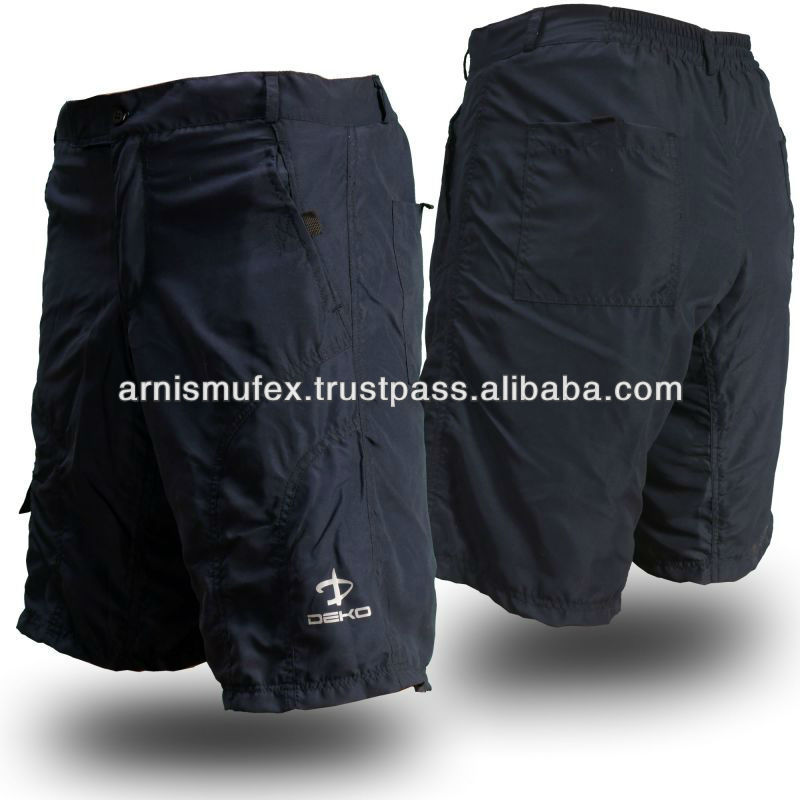 Men Mountain Bike Cycling Baggy Shorts with optional padded undershorts