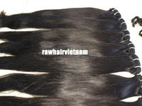Thin hair best quality top 7a grade virgin hair straight 100% virgin hair extension