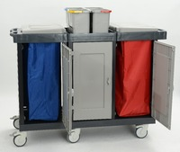 Cleaning Trolley Commercial Design Housekeeping,Hotel Cleaning Trolley Hospital Code: R1551 D TURKEY