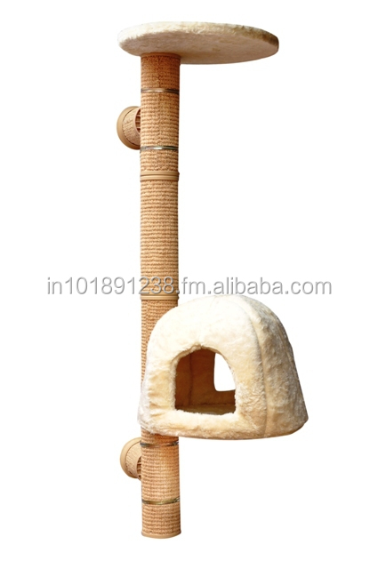 NO 5 WALL MOUNTED CAT TREE ( Catwalk system)
