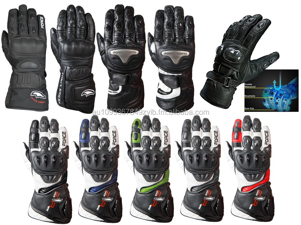 Motorbike Racing/Sports Gloves Leather