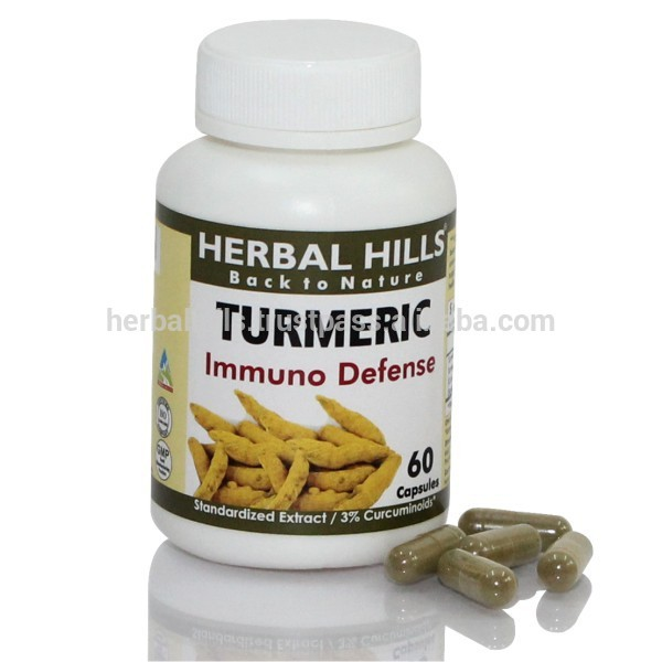Herbal HIlls Supply Turmeric Curcumin Capsules