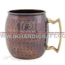 solid copper mule mug