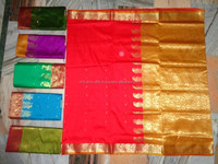ART SILK BANARASI SAREES PACK OF 50 PCS