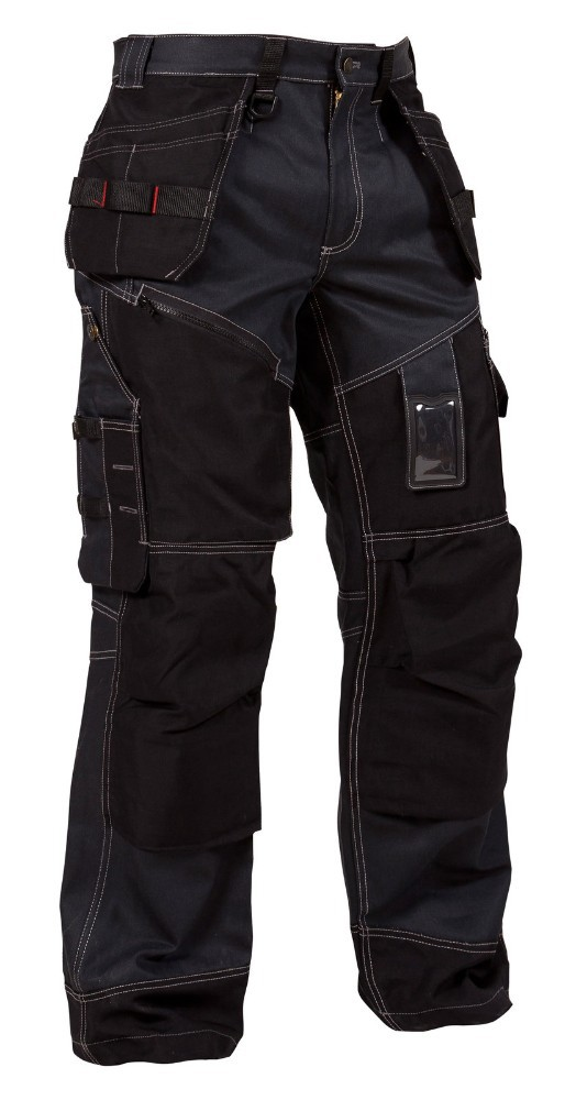 Heavy cotton , PC , fabric work trouser with cordura knee pocket ,carpenter trouser, cargo pant