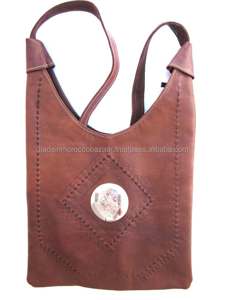 Good Quality Shoulder Strap Leather Bags For Girls