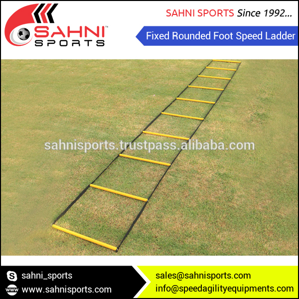 Round Heavy PVC Rugs Speed Agility Ladder for Speed Fitness Training