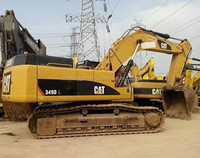 Used Big Construction Equipment Caterpillar Excavator 349DL/ Used Cat 340D 345C 345D 349D 390D Big Digger