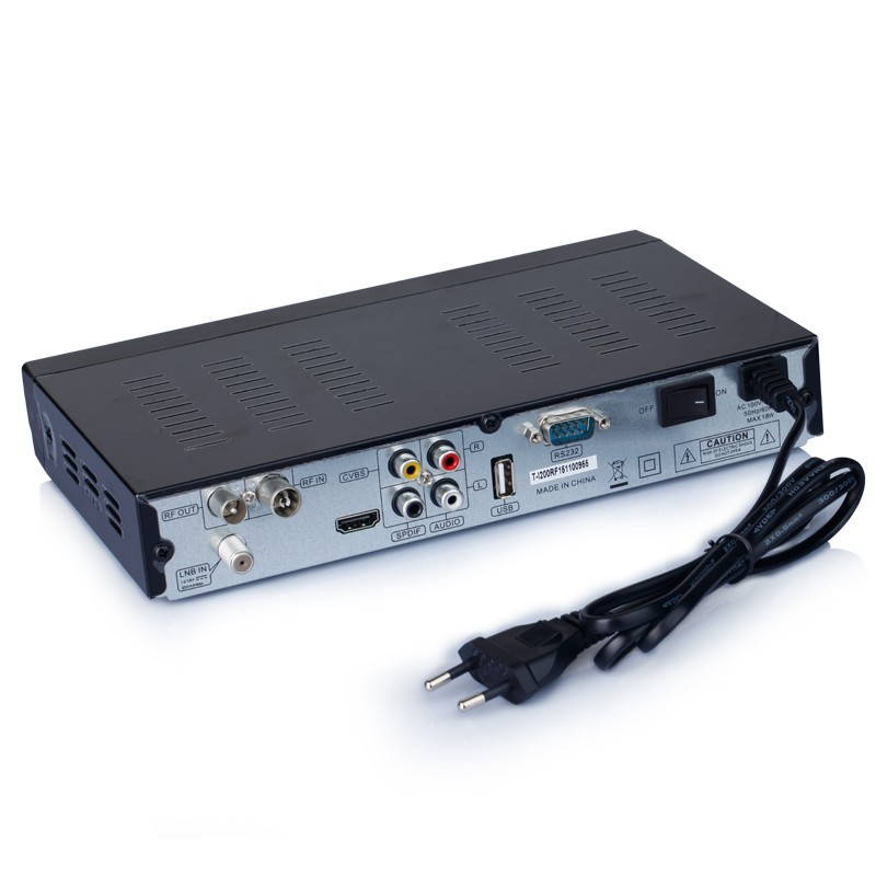 Satellite Set Top Receiver Box Tiger Star I200RF DVB - S2 Media Player