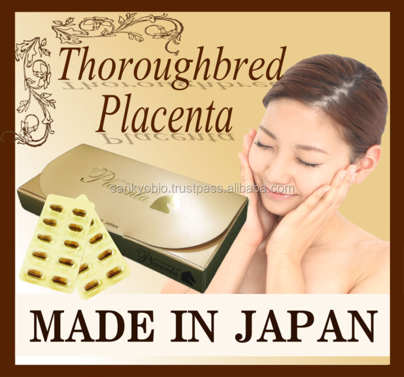 Horse Placenta Capsule Made in Japan Products , small lot order available
