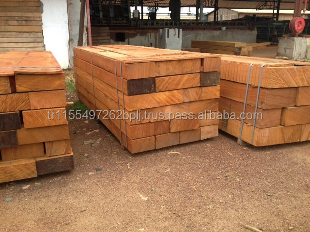 IROKO HARD WOOD, Merbau Sawn Timber / Square Logs / Flooring