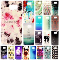 Colorful Ultra Thin TPU Soft Silicone Back Case Cover for Samsung for iPhone smartphones