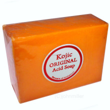 Kojic Acid Soap For Skin Whitening Bleaching - 4.2 oz Bar w/ Papaya