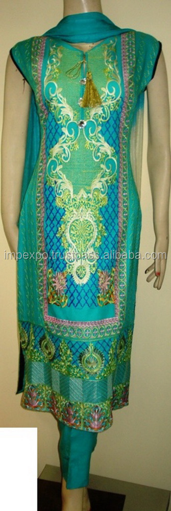 New dress design 2016 pakistan / pakistani ladies dresses salwar kameez