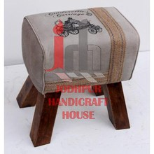 Hot Selling Low Price Designer Canvas Stool