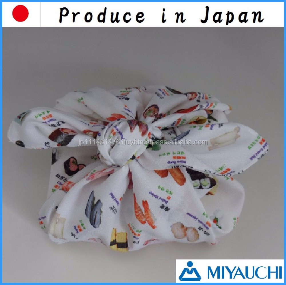 Japanese wholesale tourist souvenir gift wrapping cloth for lunch box