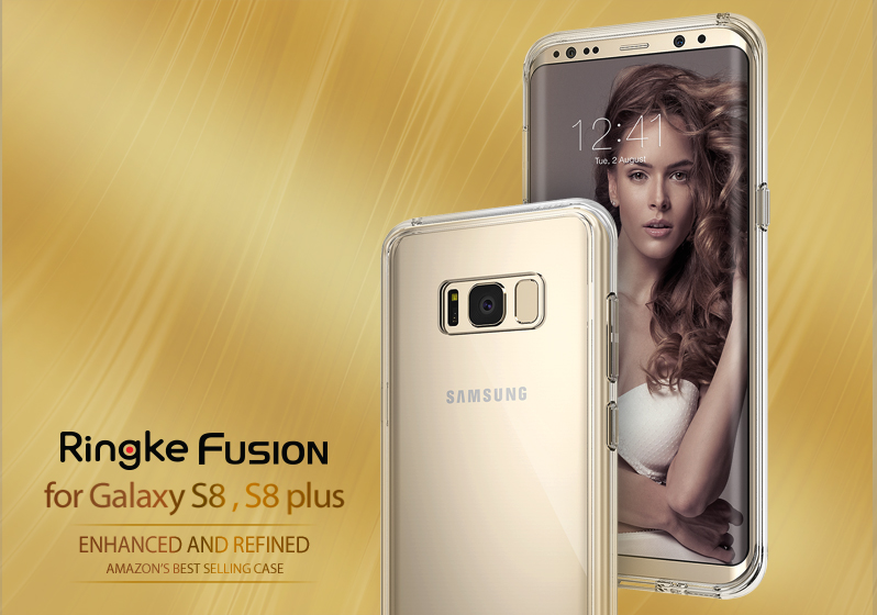 [Ringke] Ringke Fusion - Smart Phone Case for Galaxy S8 S8+