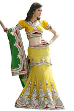 Beautiful Wedding Party Occasion Embroidered Wear Dress Bridal Lehenga Designer Mermaid Style Indian Wedding Gown Bridal Gown