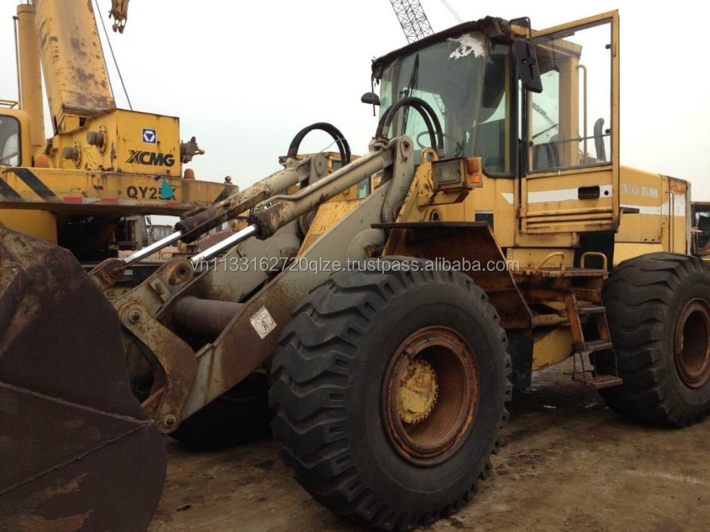 Used construction machinery cheap Volvo L120 wheel loader for sale