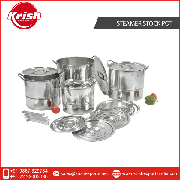 Steel Stock Pots & Steamer