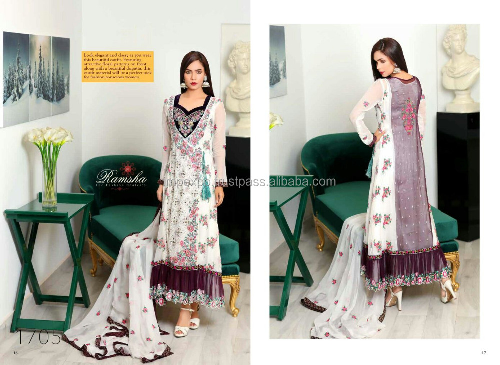 Pakistani dress design salwar kameez / Latest dress designs pakistani 2016 fashion